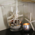 Fake Mercury Glass Candle Holders DIY