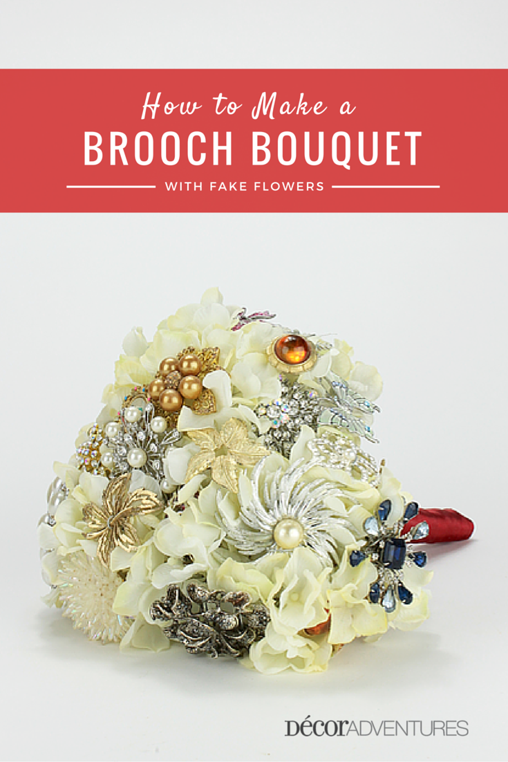 How To Make A Brooch Bouquet Wedding Pin Bouquet
