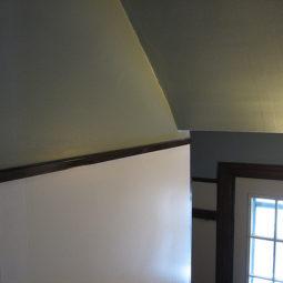 Progress in the Side Foyer