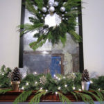 Natural Holiday Mantel