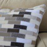 Knock Off Ballard Designs Cowhide Pillow