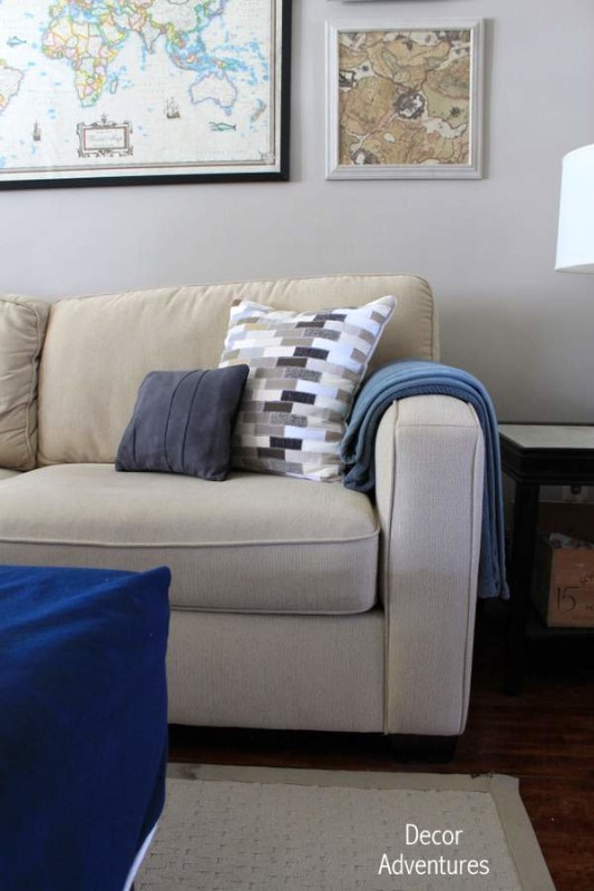 How to Sew a Cowhide Pillow