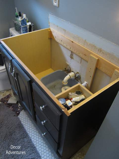 How To Remove A Countertop From Vanity Decor Adventures