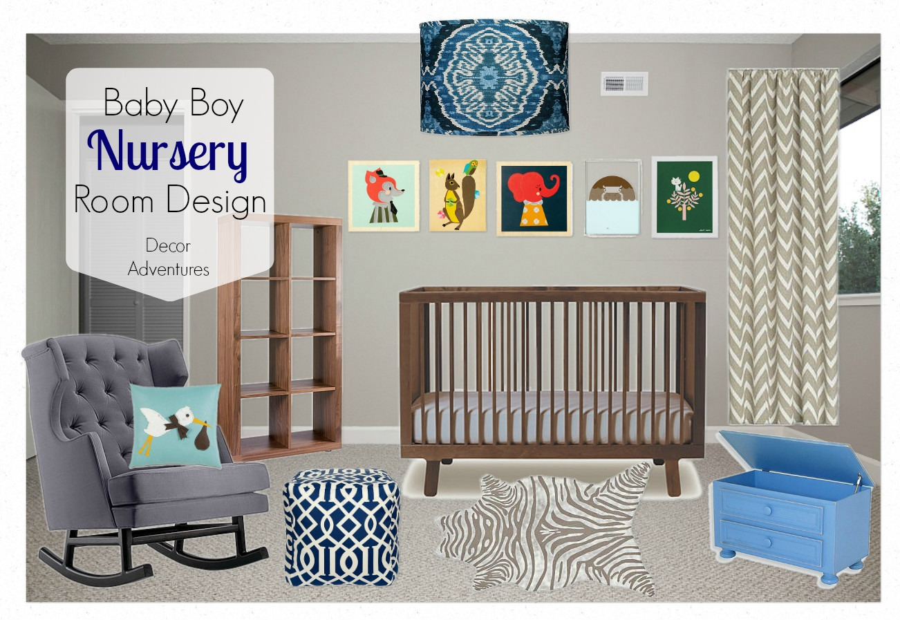 Nursery Design boy nursery design » decor adventures