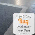 Easy Rug Makeover