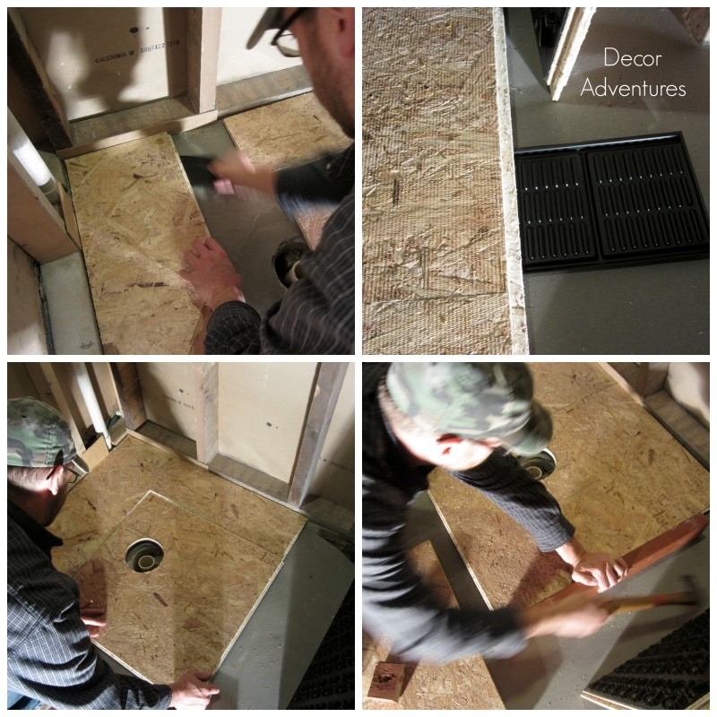Working With DRIcore Subfloor In A Basement » Decor Adventures