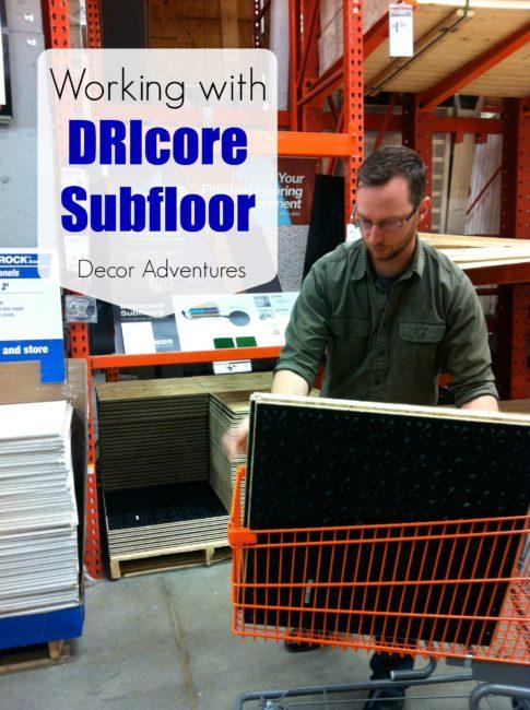 DRIcore Subflooring