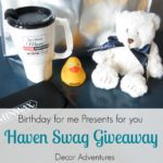 Birthday Haven Swag Giveaway