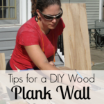 Plank Wall DIY Tips + Bathroom Updates