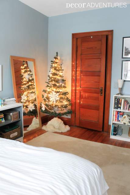 Christmas Tree in Bedroom
