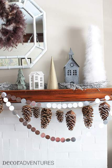 Holiday Mantel Decorations