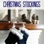How to Sew Christmas Stockings with Cuff
