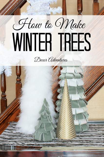 How to Make Winter Trees