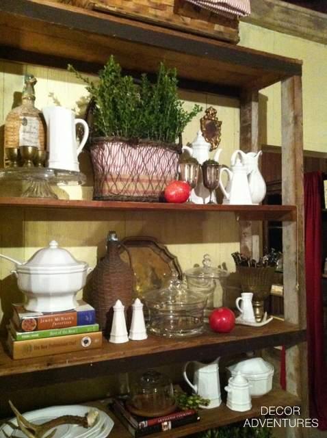 Holiday Shelves