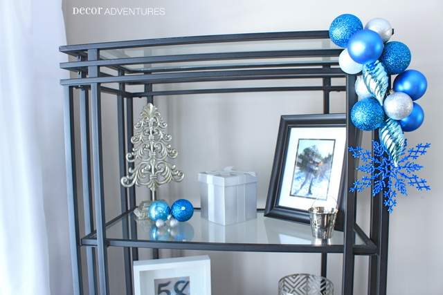 Bright Blue Holiday Decorations