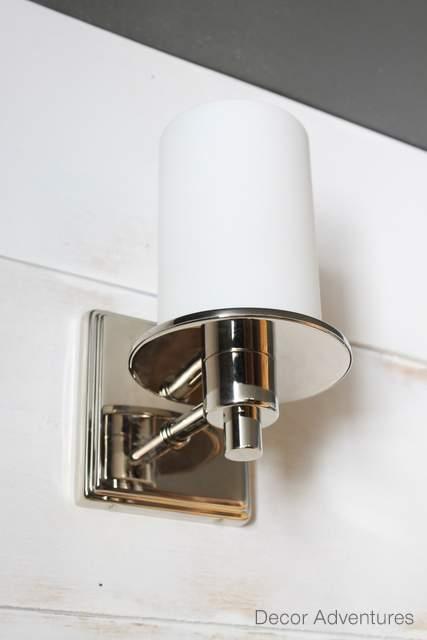 New Bathroom Lights