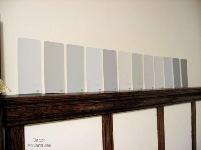 Paint Chips on Wall
