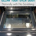 How to Clean Your Oven Door Naturally + Free Checklist
