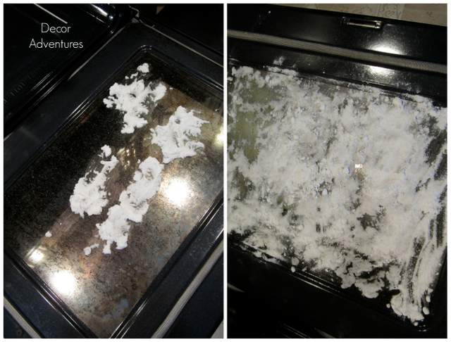 Clean Your Oven Door Naturally