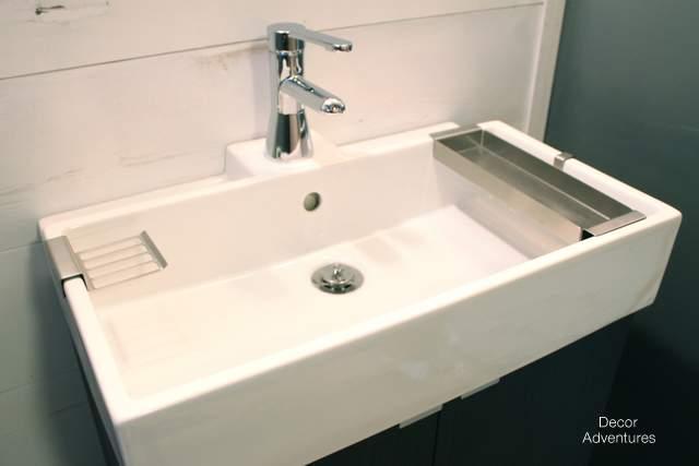 New Basement Bathroom Vanity Ikea Style 187 Decor Adventures