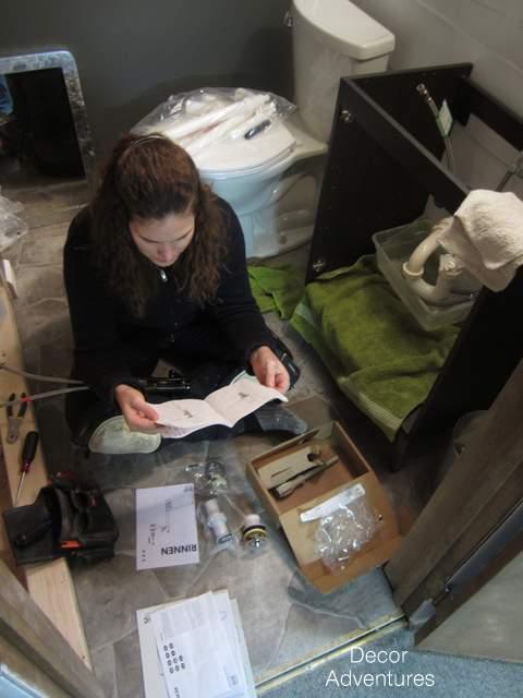 Installing Ikea Sink