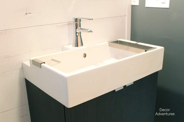 Ikea Bathroom Sink : New Basement Bathroom Vanity Ikea Style ? Decor Adventures