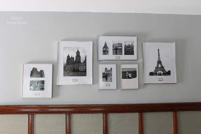Travel Photos Gallery Wall » Decor Adventures