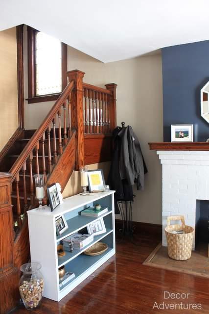 Old House Modern Foyer