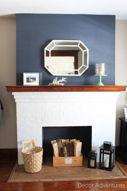 What Does The Navy Do >> Hale Navy Accent Wall + Free Printable » Decor Adventures