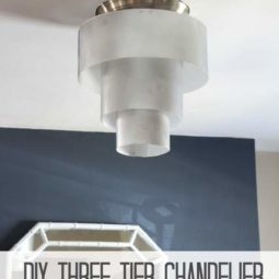 DIY Three Tier Chandelier + Super Bright LEDs
