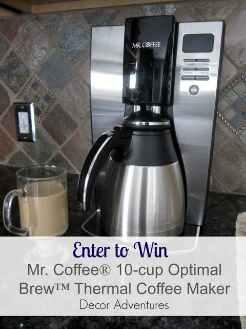 Mr Coffee Giveaway