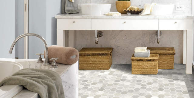 Picking Out a New Bathroom Floor » Decor Adventures