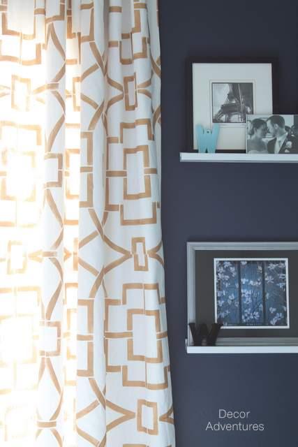 Diy Stenciled Curtains 187 Decor Adventures