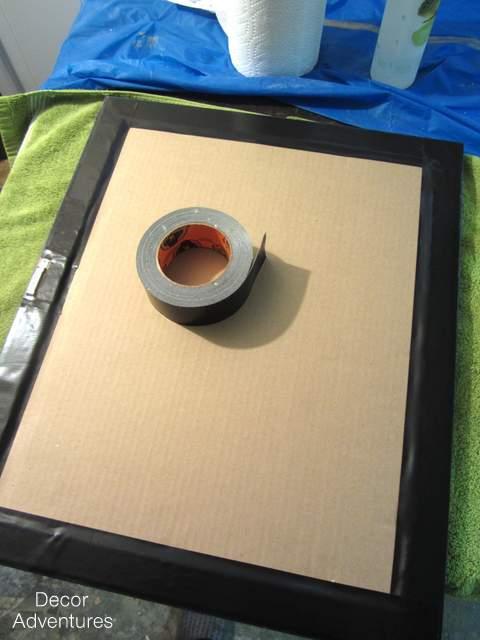 DIY Chalkboard Picture Frames