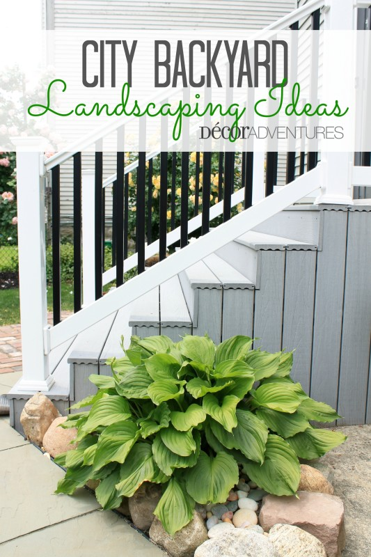 City Backyard Landscaping Ideas