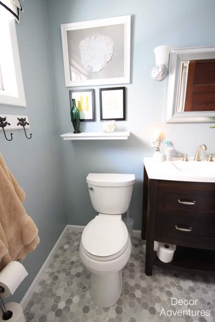 Ideal Small Bathroom Makeover