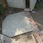 Starting the Backyard Makeover + Our New Flagstone Patio