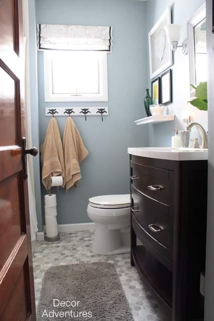 Small Master Bathroom Makeover » Decor Adventures