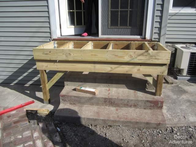 deck frame deck building materials