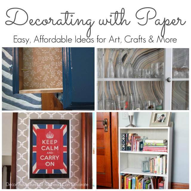 Decorating with Paper