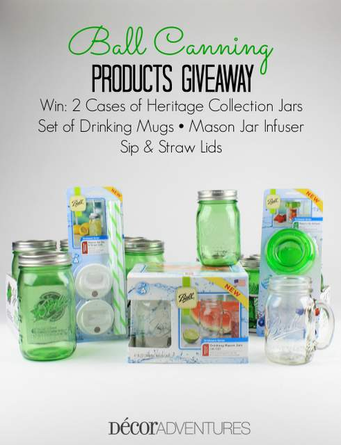 Ball Canning Products Giveaway