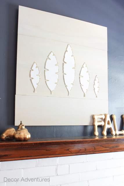 Fall Wall Art diy fall wall art » decor adventures