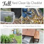 Fall Yard Clean Up Checklist