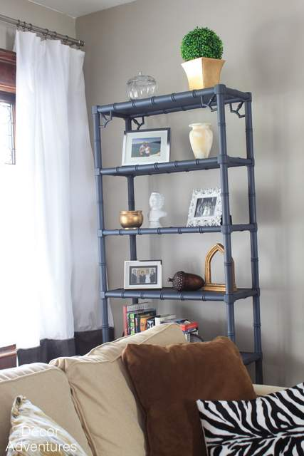 Hale Navy Banboo Bookshelves