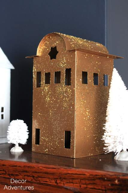 Holiday Glitter Houses
