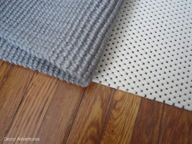 Why You Should Use A Rug Pad 187 Decor Adventures
