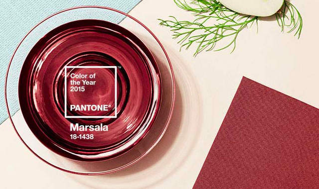 Color of the Year Marsala