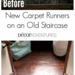 A Long-Awaited Makeover + New Carpet Runners on Our Split Staircase