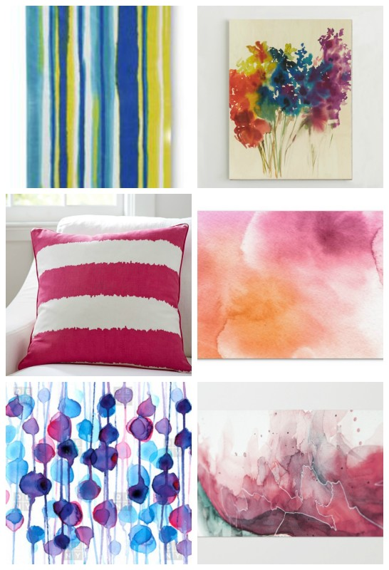 Watercolor for the Home