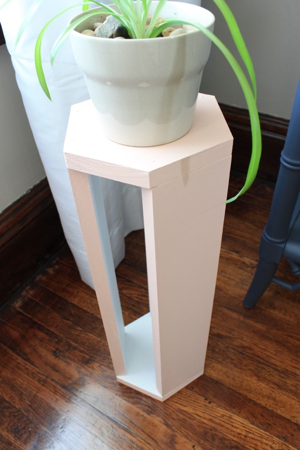 Diy wood plant stand decor adventures
